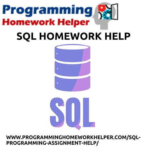 SQL Homework Help